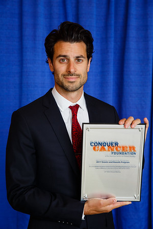 2017 Young Investigator Award Recipient George Nahas, DO during 2017 Grants & Awards Ceremony and Reception