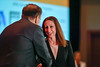 2017 CDA Recipient Jaime Libes, MD, MPH with Thomas G. Roberts, Jr., MD, Chair of the Conquer Cancer Foundation Board of Directors, during 2017 Grants & Awards Ceremony and Reception