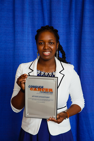 2017 Resident Travel Award Recipient Betty Abban, MD during 2017 Grants & Awards Ceremony and Reception