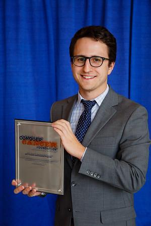 Brigid Leventhal Special Merit Award Recipient James Edward Bates, MD, during 2017 Grants & Awards Ceremony and Reception