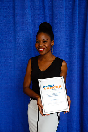 2017 Resident Travel Award Recipient  Nkem Nweze, MD during 2017 Grants & Awards Ceremony and Reception