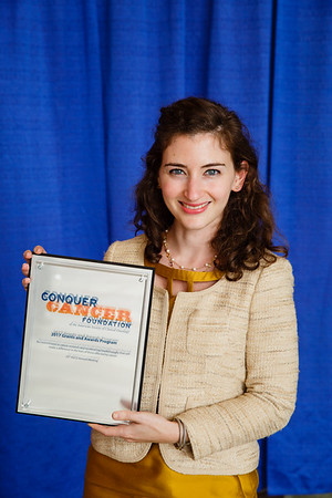 2017 Young Investigator Award Recipient Claire Friedman, MD, during 2017 Grants & Awards Ceremony and Reception