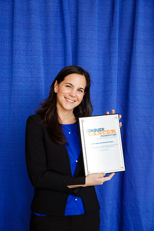 2017 Young Investigator Award Recipient Angela Lamarca, MD, PhD during Grants & Awards Ceremony and Reception