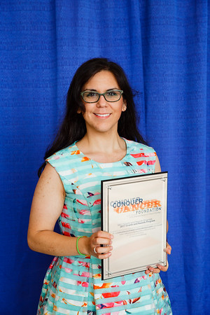 2017 Resident Travel Award Recipient Victoria Lopez, MD during 2017 Grants & Awards Ceremony and Reception