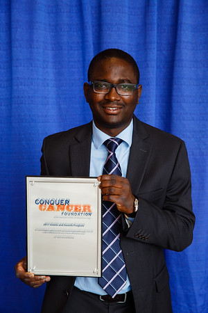 2017 Resident Travel Award Recipient Abiodun Adefurin, MBBS, during 2017 Grants & Awards Ceremony and Reception