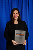 2017 Young Investigator Recipient Kristen Marrone, MD, during 2017 Grants & Awards Ceremony and Reception