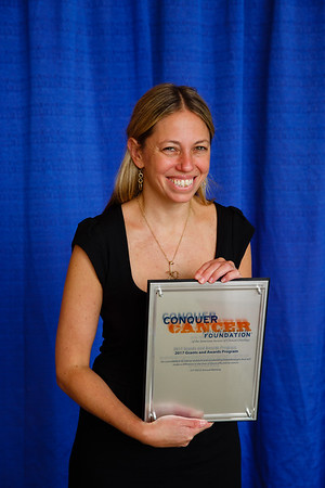 2017 Young Investigator Award Recipient Alexandra Miller, MD, PhD, during 2017 Grants & Awards Ceremony and Reception
