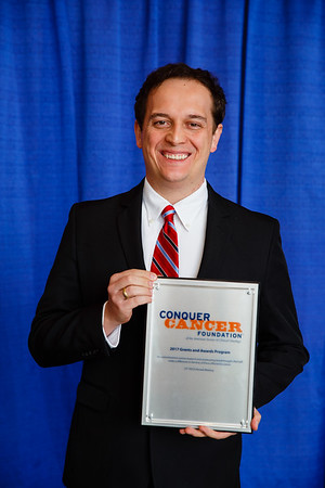 2017 IDEA in Palliative Care Recipient Andre Filipe Junqueira dos Santos, MD, PhD, during 2017 Grants & Awards Ceremony and Reception