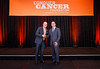 2017 Young Investigator Award Recipient Randy Sweis, MD with Thomas G. Roberts, Jr., MD, Chair of the Conquer Cancer Foundation Board of Directors, during 2017 Grants & Awards Ceremony and Reception