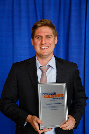 2017 Young Investigator Award Recipient Stephen Schleicher, MD, MBA during 2017 Grants & Awards Ceremony and Reception