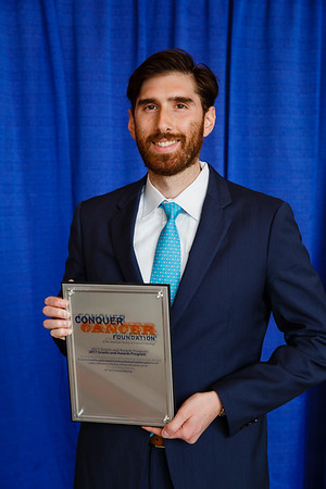 2017 Young Investigator Award Recipient Brian Henick, MD, during 2017 Grants & Awards Ceremony and Reception