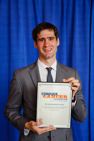 2017 Young Investigator Award Recipient Milos Miljkovic, MD, MSc during 2017 Grants & Awards Ceremony and Reception