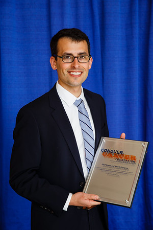 2017 Young Investigator Award Recipient Philip Poorvu, MD during 2017 Grants & Awards Ceremony and Reception