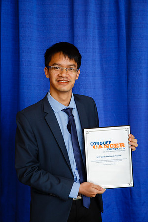 2017 IDEA Recipient Voc Tai Dang, MD  during 2017 Grants & Awards Ceremony and Reception