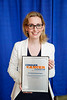 2017 Young Investigator Award Recipient Ciara Kelly, MBBS, during 2017 Grants & Awards Ceremony and Reception