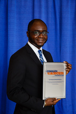 2017 Young Investigator Award Recipient Oladapo Yeku, MD, PhD during 2017 Grants & Awards Ceremony and Reception