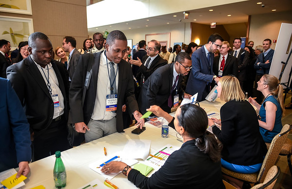 Registration during 2017 Grants & Awards Ceremony and Reception