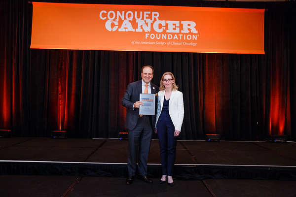 2017 Young Investigator Award Recipient Ciara Kelly, MD during 2017 Grants & Awards Ceremony and Reception