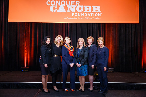 Women Who Conquer Cancer Advisory Group & Mentorship Award Recipients during 2017 Grants & Awards Ceremony and Reception