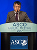 David Liu, MD, MS, MPH, speaks during Expanding the Actionable Landscape: Bladder Cancer Genomics