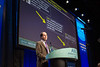 Eric J. Small, MD, FASCO, discussing Abstract LBA3 during Plenary Session