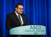 MinYuen Teo, MB, MRCP, speaks during Expanding the Actionable Landscape: Bladder Cancer Genomics