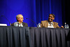 A panel discussion during Upfront Management of Operable Non-Small Cell Lung Cancer
