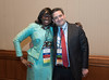 Speakers and attendees during ASCO Reception on Disparities in Cancer Care
