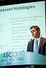 David Hyman, MD, Memorial Sloan-Kettering Cancer Center, presenting Abstract LBA2501, The efficacy of larotrectinib (LOXO-101), a selective tropomyosin receptor kinase (TRK) inhibitor, in adult and pediatric TRK fusion cancers, during Saturday Press Briefing