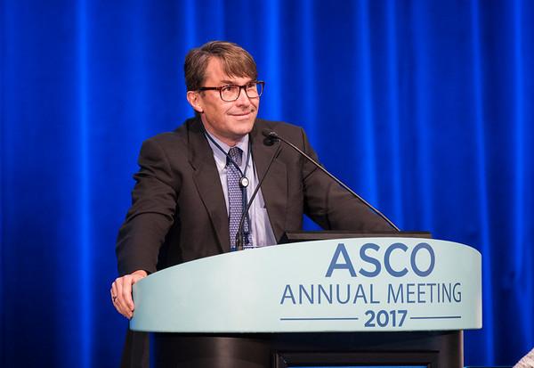David James McConkey, PhD, speaks during Expanding the Actionable Landscape: Bladder Cancer Genomics