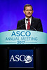 Clifford Hudis, MD, FACP, FASCO, ASCO CEO, introducing Daniel F. Hayes, MD, FACP, FASCO, ASCO President, during Opening Session