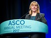 Julie Vose, MD, MBA, FASCO, presenting the Science of Oncology Award to Brian Druker, MD, during Plenary Session including Science of Oncology Award and Lecture
