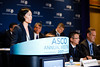 Alice T. Shaw, MD, PhD, Massachusetts General Hospital, presenting Abstract LBA9008, Alectinib versus crizotinib in treatment-naive advanced ALK-positive non-small cell lung cancer (NSCLC): Primary results of the global phase III ALEX study, during Monday Press Briefing