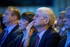 Attendees listen during Plenary Session Including the Science of Oncology Award and Lecture