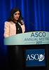 Maria Isabel Carlo speaks during Expanding the Actionable Landscape: Bladder Cancer Genomics