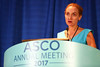 Georgina V. Long, BSc, PhD, MBBS, FRACP, speaks during Immunotherapy, Surgery, and Radiation Therapy of Melanoma