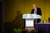 Dean Brenner, MD, FASCO, delivering the ASCO-ACS Lecture during ASCO-American Cancer Society Award and Lecture