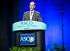 Brian Druker, MD, accepting the Science of Oncology Award during Plenary Session including Science of Oncology Award and Lecture