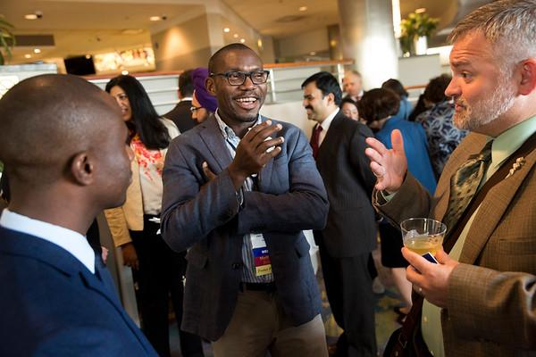 IDEA mentors and recipients meet during IDEA Networking Event