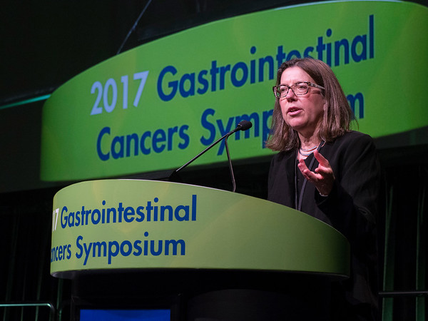 Cynthia Sears, MD, delivering Keynote Lecture: Microbes, Microbiota and Colon Cancer during Keynote Lecture: Microbes, Microbiota and Colon Cancer