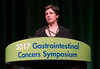 Dr. Sabine Tejpar discusses Abstracts 522 and 523 during Oral Abstract Session C: Cancers of the Colon, Rectum and Anus
