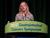 Karyn Goodman, MD, during General Session 1: Advances in Local Management and Therapy for Esophageal Cancer