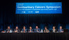 An expert panel discusses abstracts presented