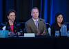 Oral Abstract Presenters discuss their research during Oral Abstract Session A