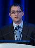 Noam A. VanderWalde, MD, presents during General Session 2