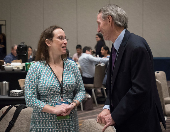 Attendees during the Trainee and Early–Career Networking Luncheon