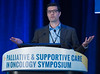 David Copenhaver, MD, MPH, presents during General Session 4