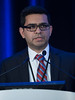 "Ali Haider, MD, University of Texas MD Anderson Cancer Center, presenting Abstract #26, ""Effects of examination room computer on cancer patients perception of physician's compassion, communication skills, and professionalism: A randomized clinical trial,"" during Oral Abstract Session A"