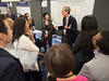 Eduardo Bruera, MD, leading attendees during Poster Walks