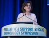 Sandra A. Mitchell, PhD, AOCN, presents during General Session 3